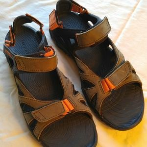 Merrell Other - Merrell brown and orange sandals