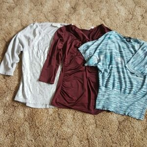 Tops - Lot of three shirts