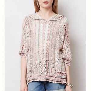 Moth Spliced Eyelet Poncho