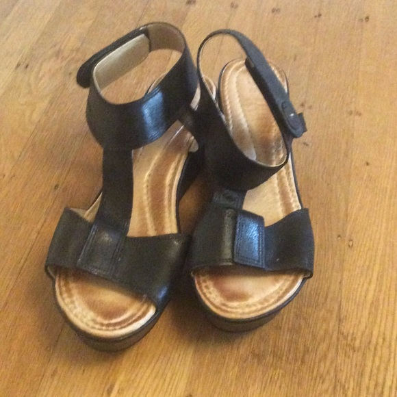 f4a0ed418cbd3 Red Apple Shoes | Black Ankle Strap Sandals | Poshmark