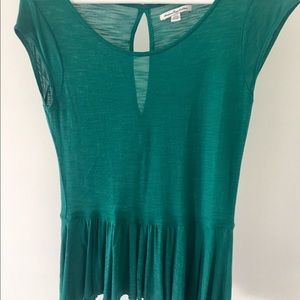 Barely worn AE teal top. Flowy and light