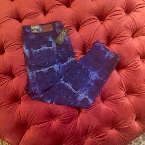 NWT Ralph Lauren Cropped Skinny Jeans