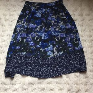 Adrianna Papell Dresses & Skirts - Floral A-Line Skirt 🔷