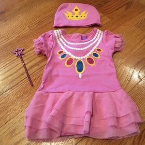 Sozo Other - SALE Baby Girl Princess Dress and Matching Hat Set