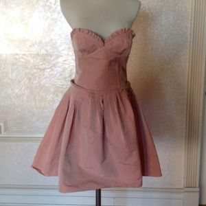 Galliano Dresses & Skirts - Galliano strapless dress sz 4