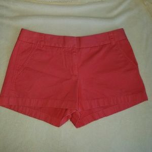 J. Crew Pants - Neon Watermelon J Crew womens Chino shorts