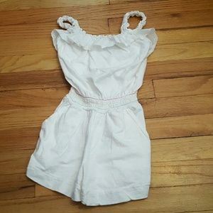 Chaps Other - Chaps white romper, girls 6x
