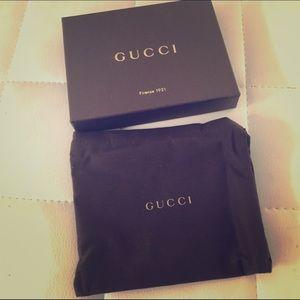 Gucci Accessories - Small Gucci box and dustbag