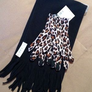 Accessories - Scarf and glove set.