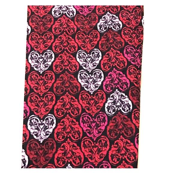 76c302f1e906e LuLaRoe Pants | Valentines Leggings Black Hearts Os | Poshmark