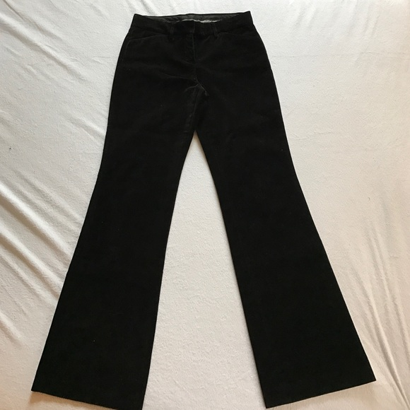 Express Pants - Express wide leg velvet pants.