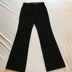 Express wide leg velvet pants.