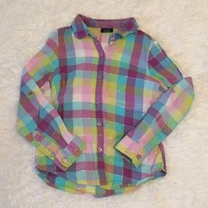 Other - Girls Flannel Shirt