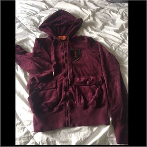 Women's S Original Juicy Couture zip up hoodie.