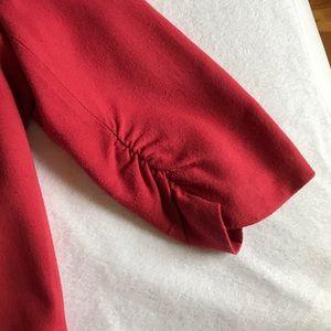 Jackets & Coats - Bar III red 3/4 sleeve lightweight blazer.