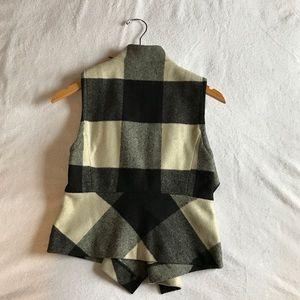 Jackets & Coats - Gap flannel vest.
