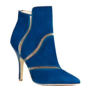 Cobalt Blue Bootie by Just Fab