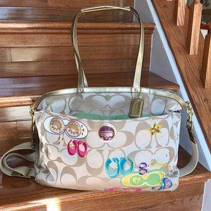 Coach Handbags - COACH travel/diaper bag