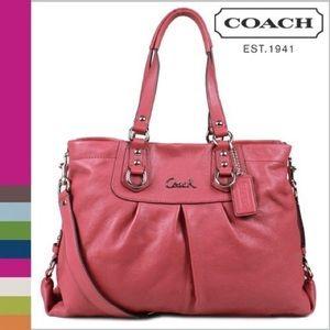 Coach Handbags - Authentic Coach Ashley Carryall
