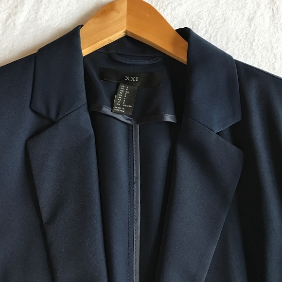 Jackets & Coats - Forever 21 lightweight blue blazer.