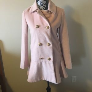 Buckle Jackets & Blazers - Betsey Johnson coat