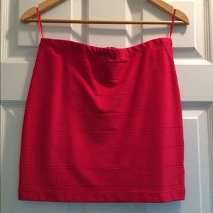 Eight Sixty - Red Mini Skirt