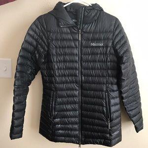 Marmot Jackets & Blazers - Marmot 800 Fill Lightweight Down Hooded Jacket