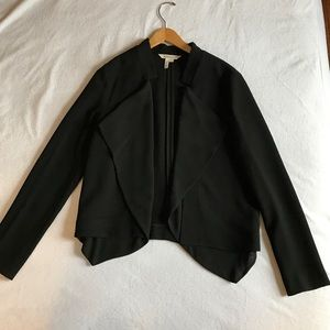 BCBGeneration black blazer with front detail.