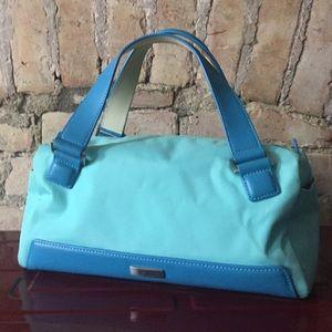"Tumi Handbags - RARE Aqua ""Tiffany"" Blue TUMI Travel Bag"