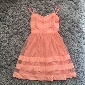 Do & Be Peach Dress