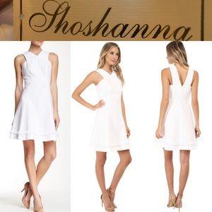 Shoshanna Dresses & Skirts - NWT Shoshanna Junelle Fringe Detail Halter Dress💕