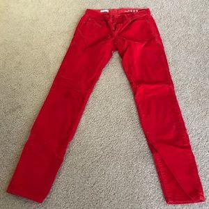 Red Gap Legging Jean. Size 26