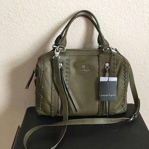 Nanette Lepore Handbags - ⚡️FLASH SALE Nanette Lepore Olive Cortina Satchel