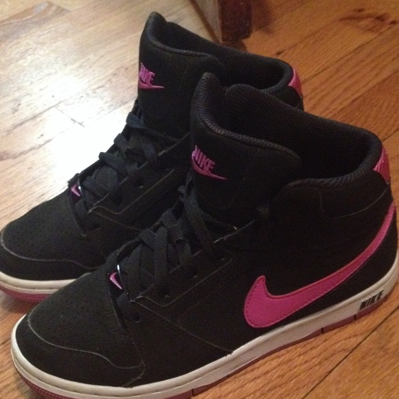 Nike Shoes | Nike Black High Tops With