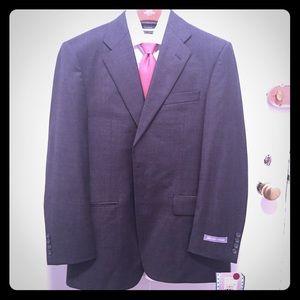 Hickey Freeman Other - Hickey Freeman dark grey men's suit 38 short new