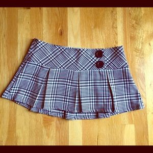 Frederick's of Hollywood Dresses & Skirts - Houndstooth Mini Skirt