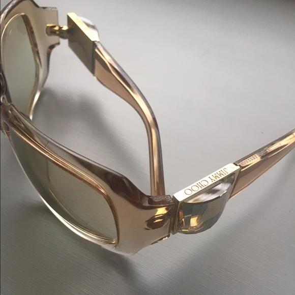 b326e89de4eb Jimmy Choo Accessories - Jimmy Choo sunglasses with swarovski crystals