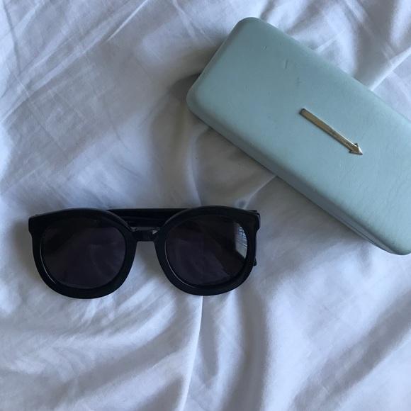 650496178819 Karen Walker Accessories - Karen Walker Super Duper Strength Sunglasses  Black