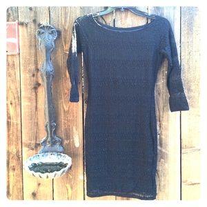 Black bodycon forever21 dress