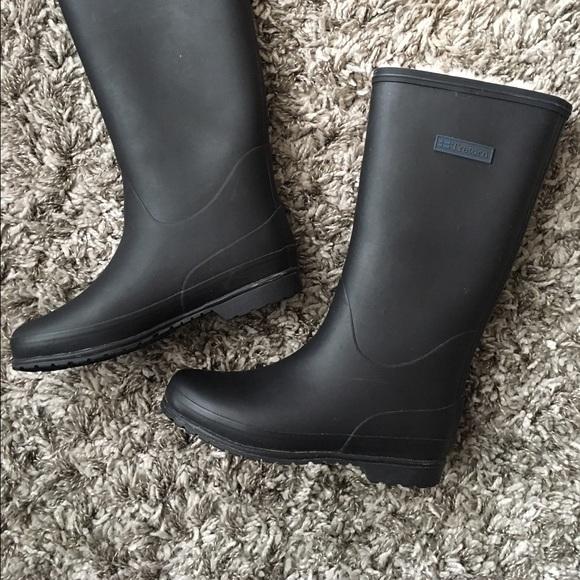 Tretorn Kelly Vinter Black Rain Boots