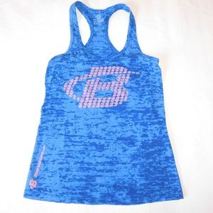 Bodybuilding.com Tops - Bodybuilding.com Blue Workout Tank - Small