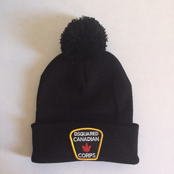 DSQUARED Other - Dsquared Men winter Hat Black NWOT bd458fdc1928