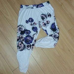 Lauren Moshi Pants - Lauren Moshi cropped lounge pants size s