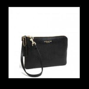 Coach Handbags - NWT Coach black wristlet
