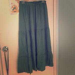 64 zara dresses skirts zara sheer blue maxi skirt