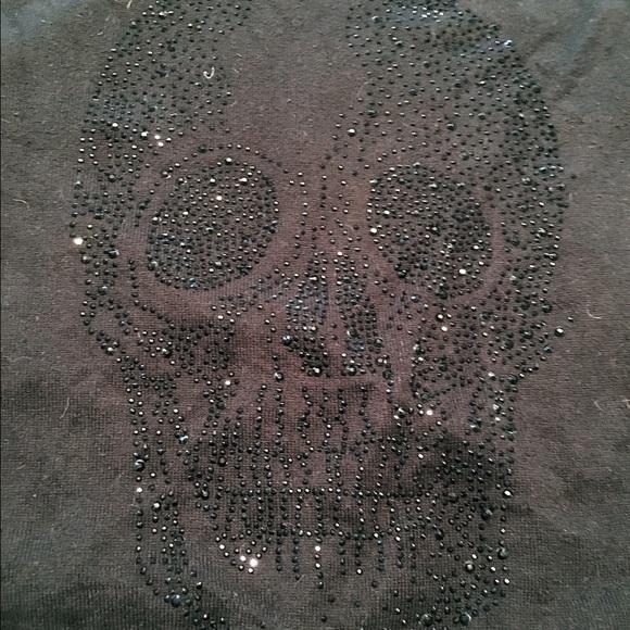 torrid Sweaters - EUC Studded Skull Sweater