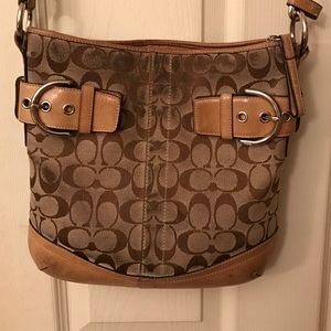 Coach Purse Brown Cross Body