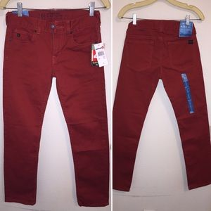 Quiksilver Other - NWT Quiksilver Red Boys Skinny Jeans