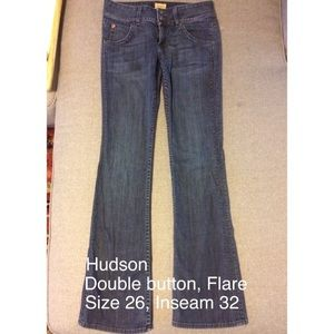 Hudson Jeans Denim - Hudson Flare jeans