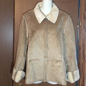 Ladies Suede Lined Jacket